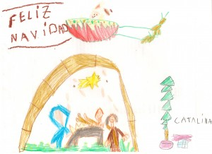 Catalina Lopez - Dibujo Navidad 1