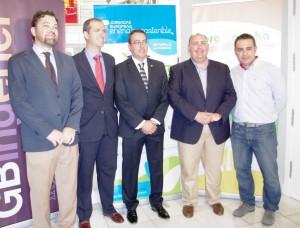 jornadas energía, ángel exojo, alcalde Alcázar, Gonzalo García-Baquero, Ángel Puente y Diego García-Baquero
